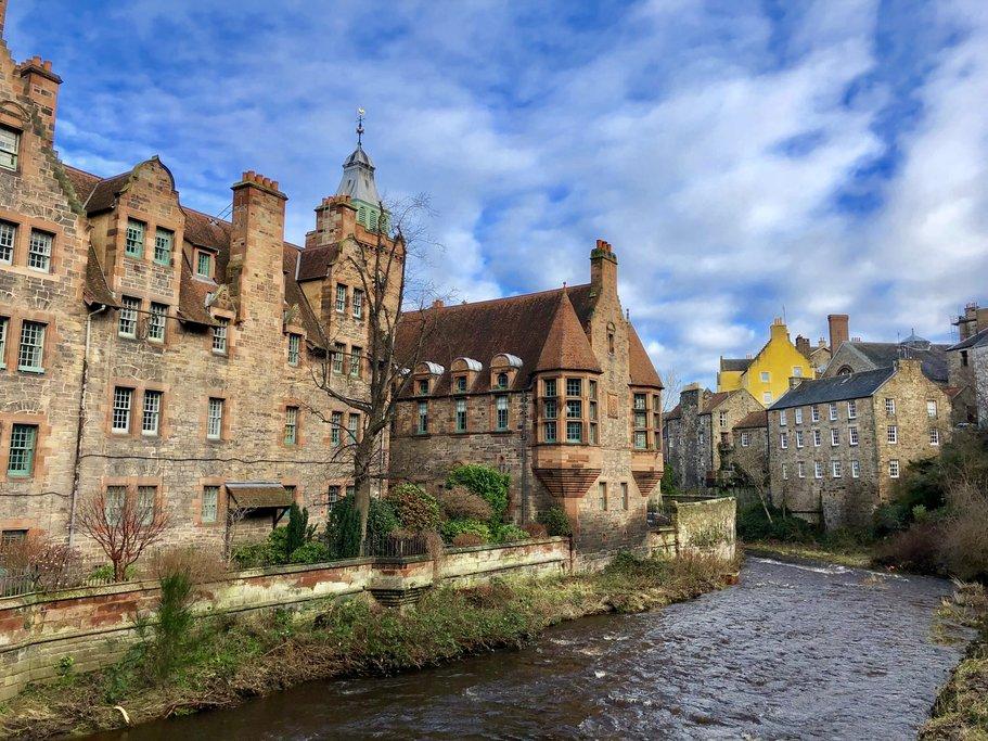 Edinburgh's castle-like architecture