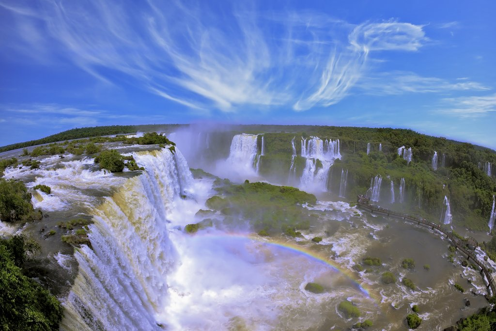Como to meet breath-taking Iguazu Falls