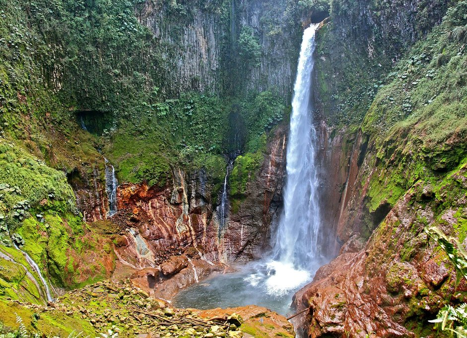 Cataratas del Toro, the star of Bajos del Toro