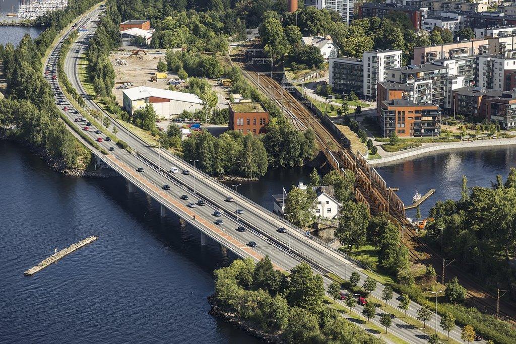 Bridges in Tampere, Finland