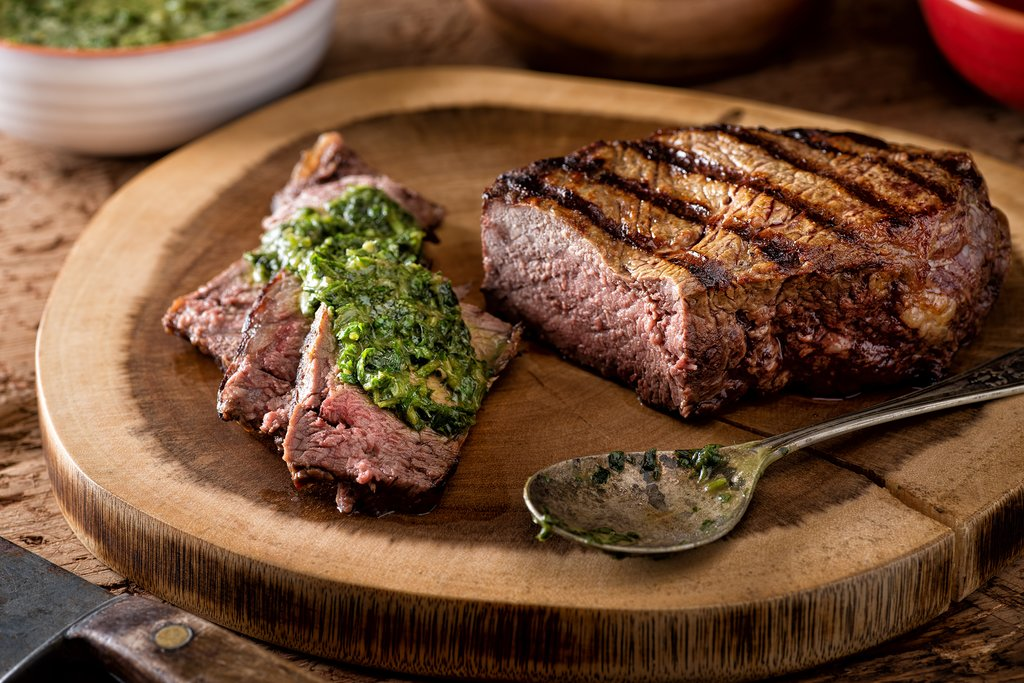Tuck into some succulent Argentine beef