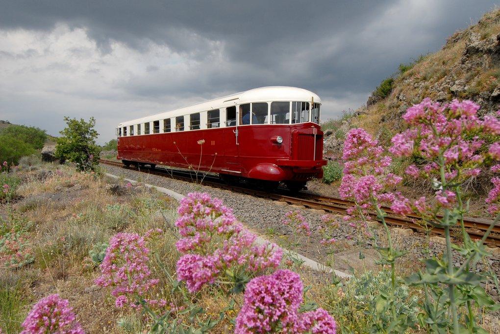 Historic Circumetnea train