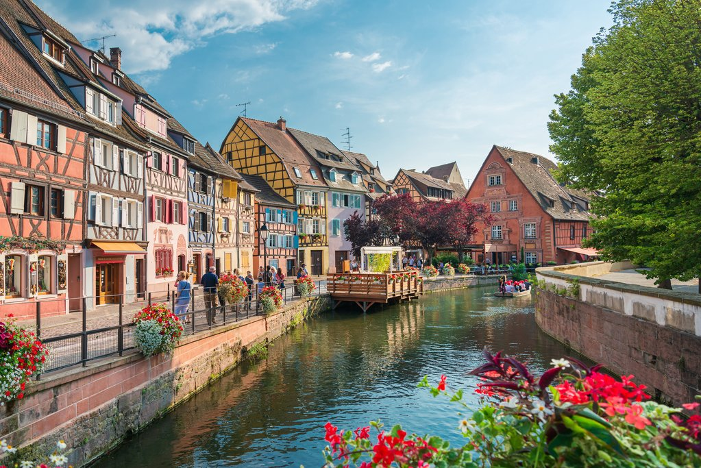 Traditional houses in La Petite France, Strasbourg