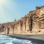 Santorini Beach Day