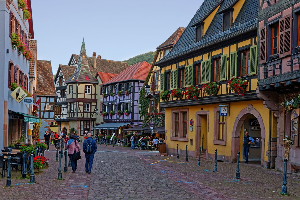 Kaysersberg, one of the prettiest villages in Alsace