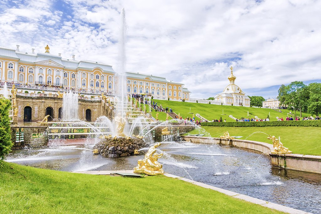 The Gardens of Peterhof