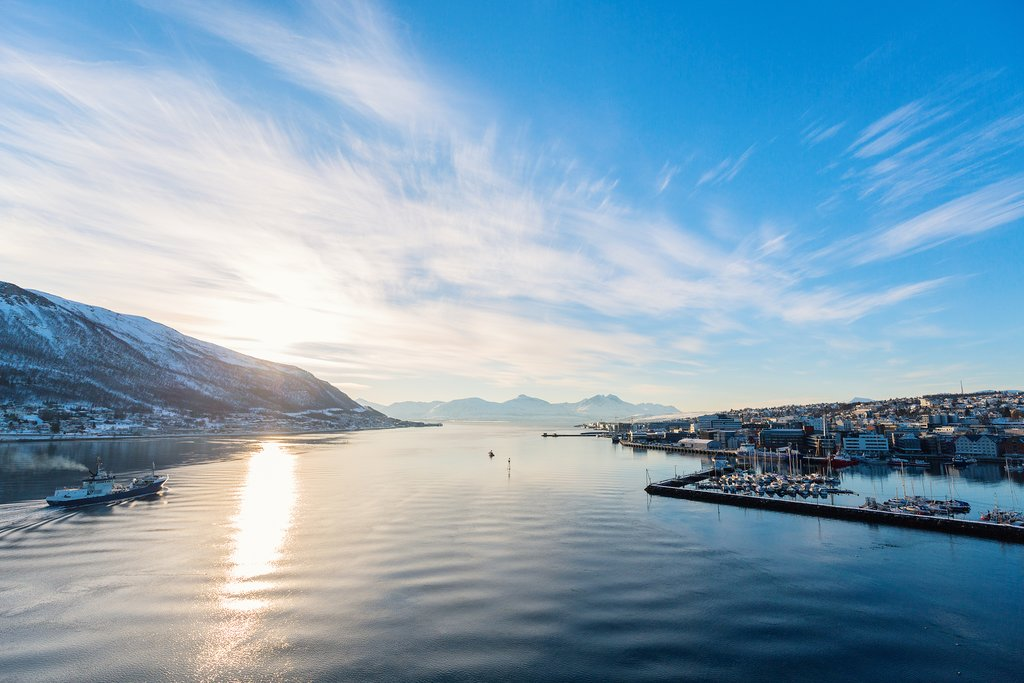 Tromso's picturesque setting
