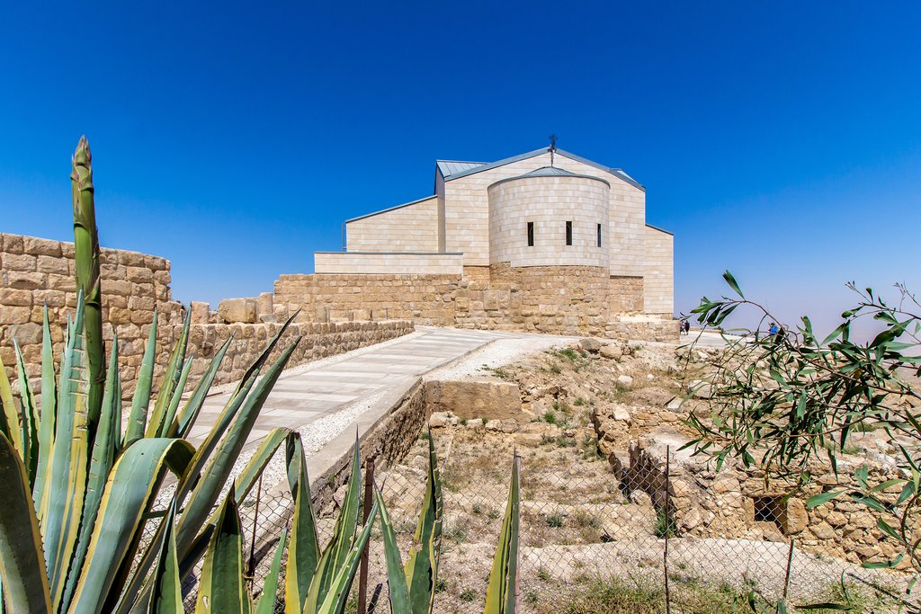 Jordan - Mount Nebo - Memorial Church of Moses