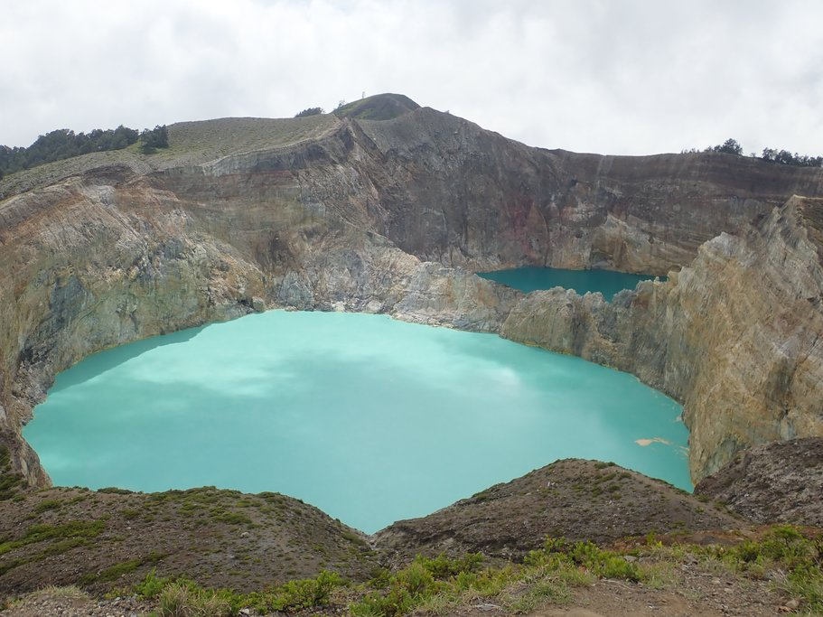 Volcanic crater lakes