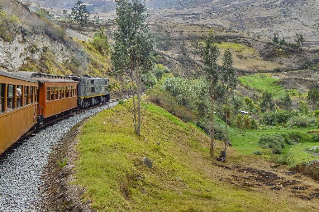 Cross-Andean Train journey