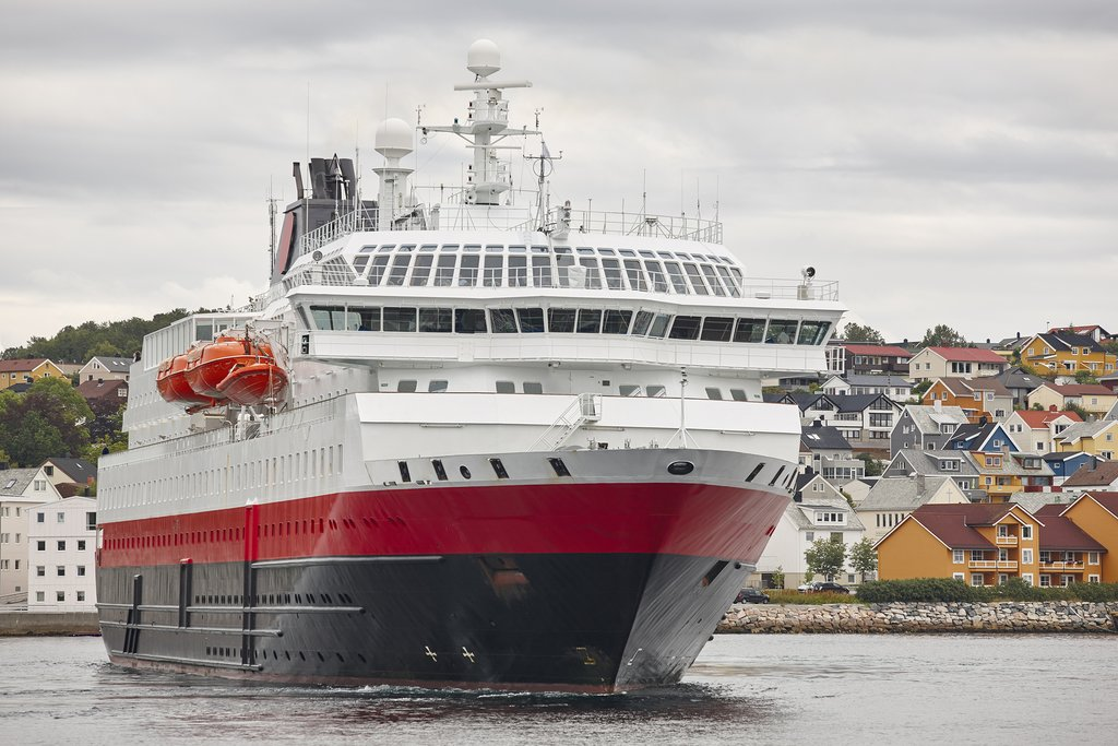 Hurtigruten in Kristiansund