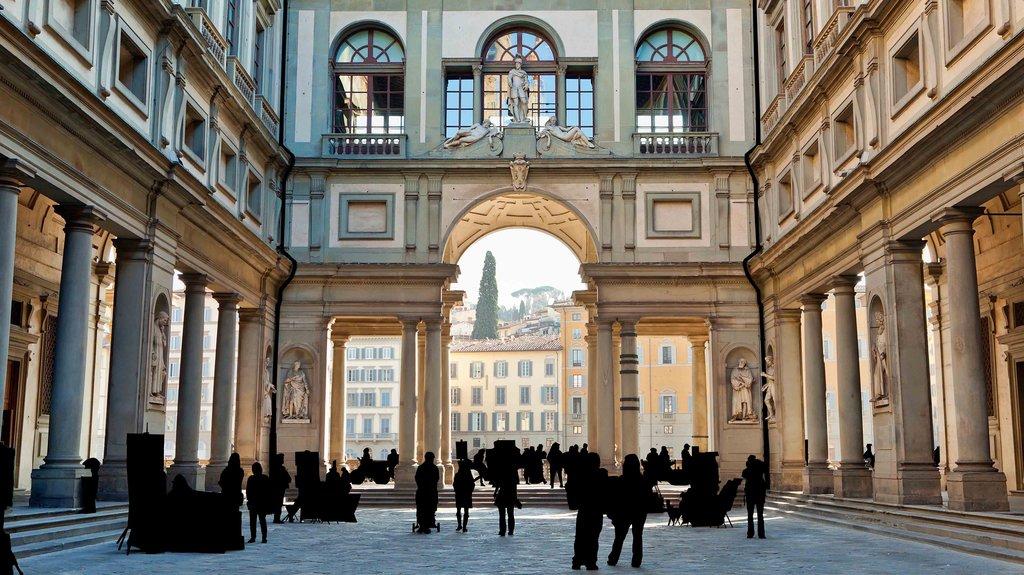 Florence's Piazzale degli Uffizi