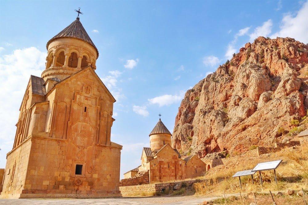 The 13th-century Noravank Monastery