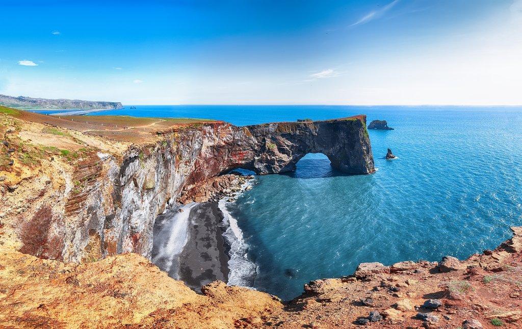 Dyrholaey Arch, South Iceland