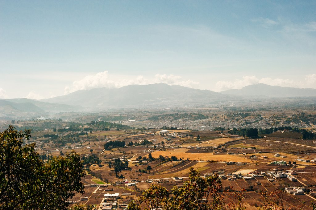 Aerial View of Quetzaltenango