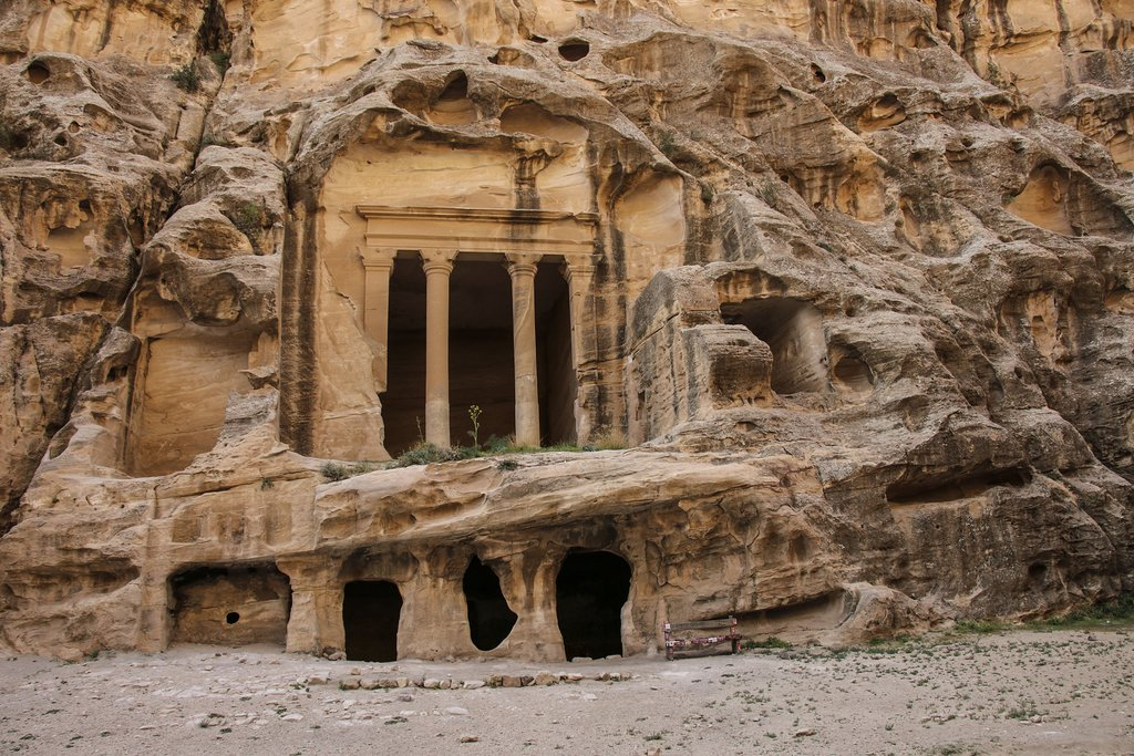 Little Petra in Siq al-Barid