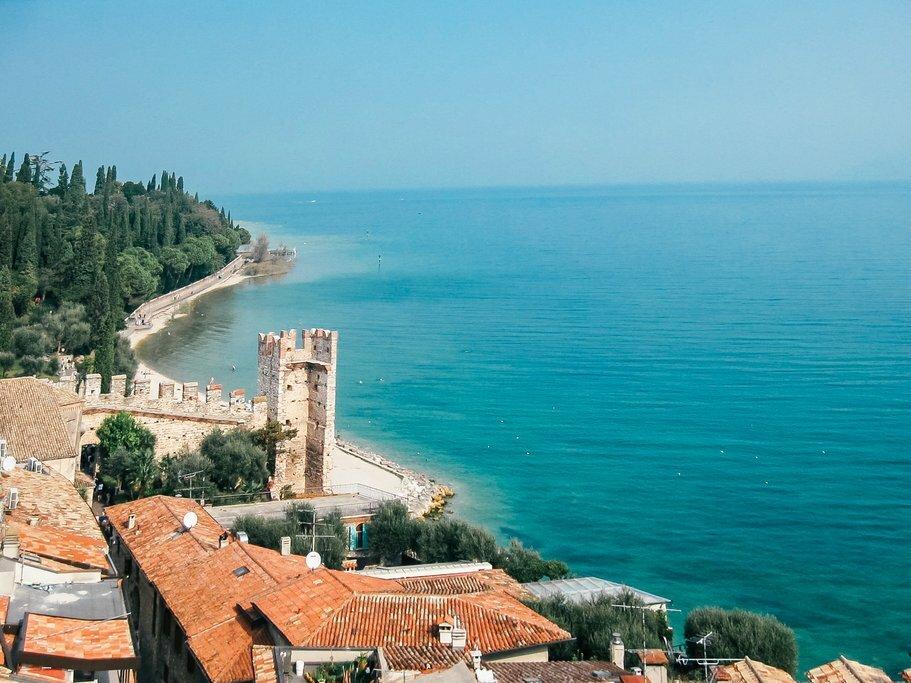 On the shores of Lake Garda