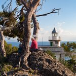Picnic with a view at the Portofino lighthouse
