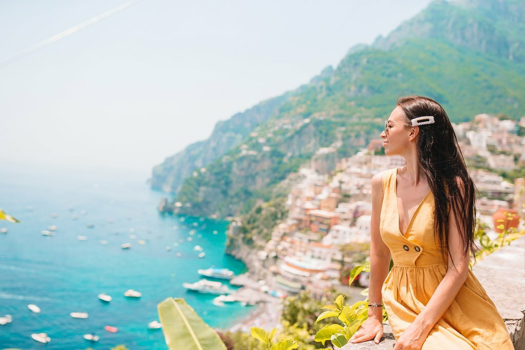 Scenic Vistas on the Amalfi Coast