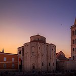 Church of St. Donatus in the early evening