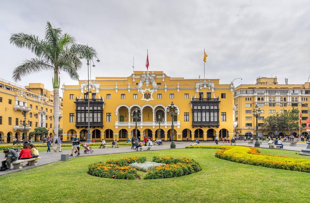 Lima's Municipal Building