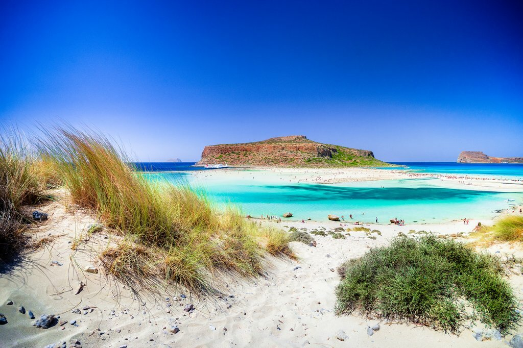 Explore Greece's Signature Turquoise Water and Scenic Beaches