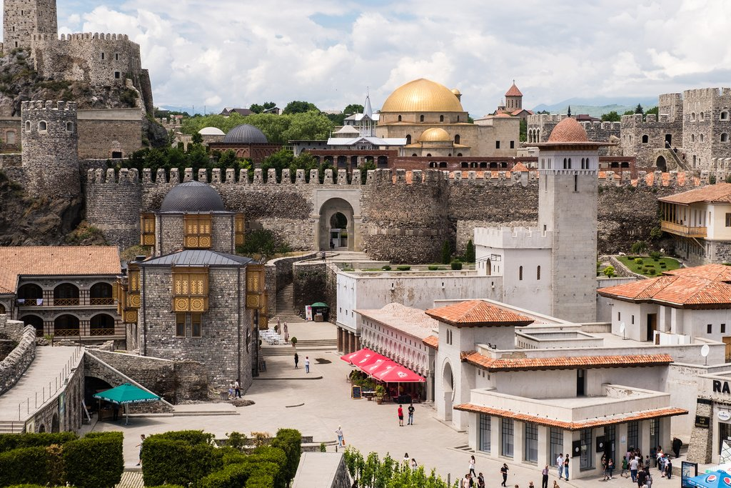Rabati Fortress is a symbol of religious diversity