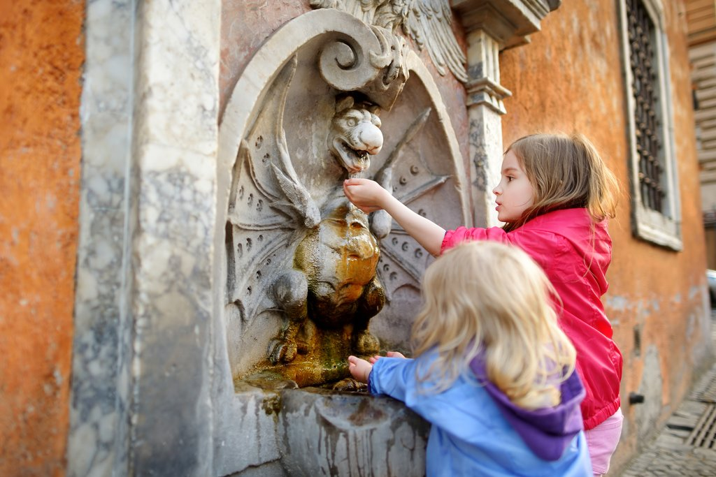Kids Discovering the Sites of Rome