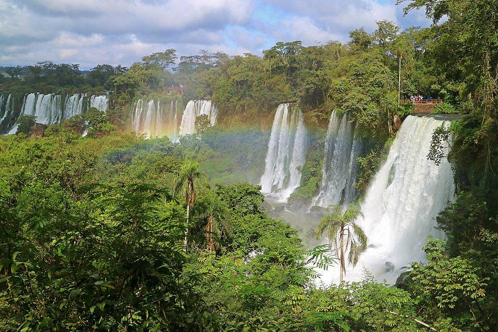Argentinian side of Iguazu Falls