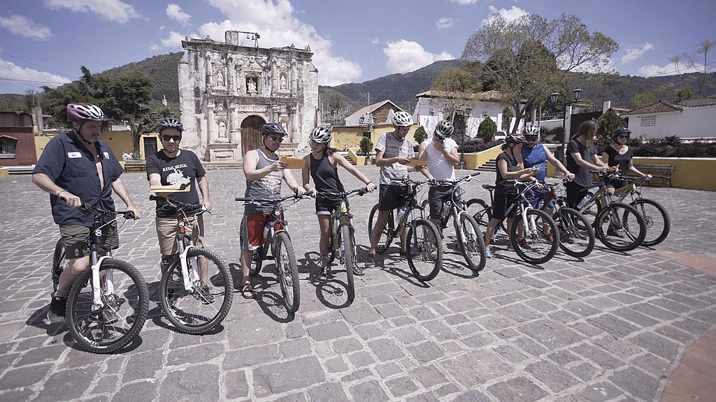 Group MTB ride