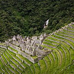 The Inca ruins of Winay Wayna