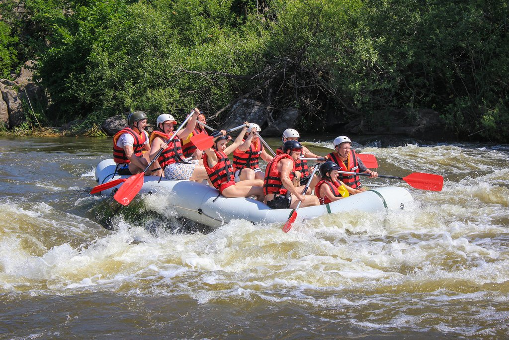 Go whitewater rafting on the Pacuare River