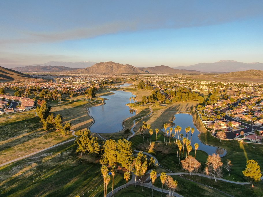Aerial Views of a Temecula golf course