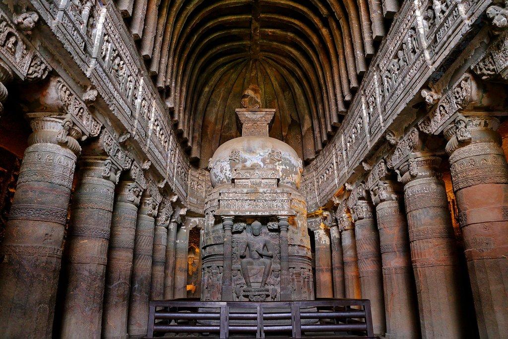 The Buddhist Ajanta Caves