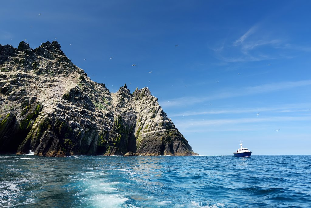 Ireland - Kerry - Little Skellig Island