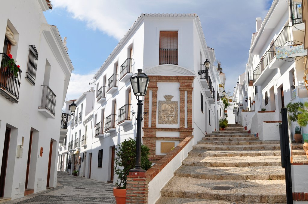 A white village in Andalusia
