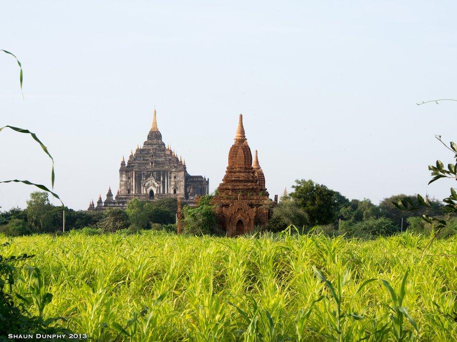 A Pagoda in Bagan