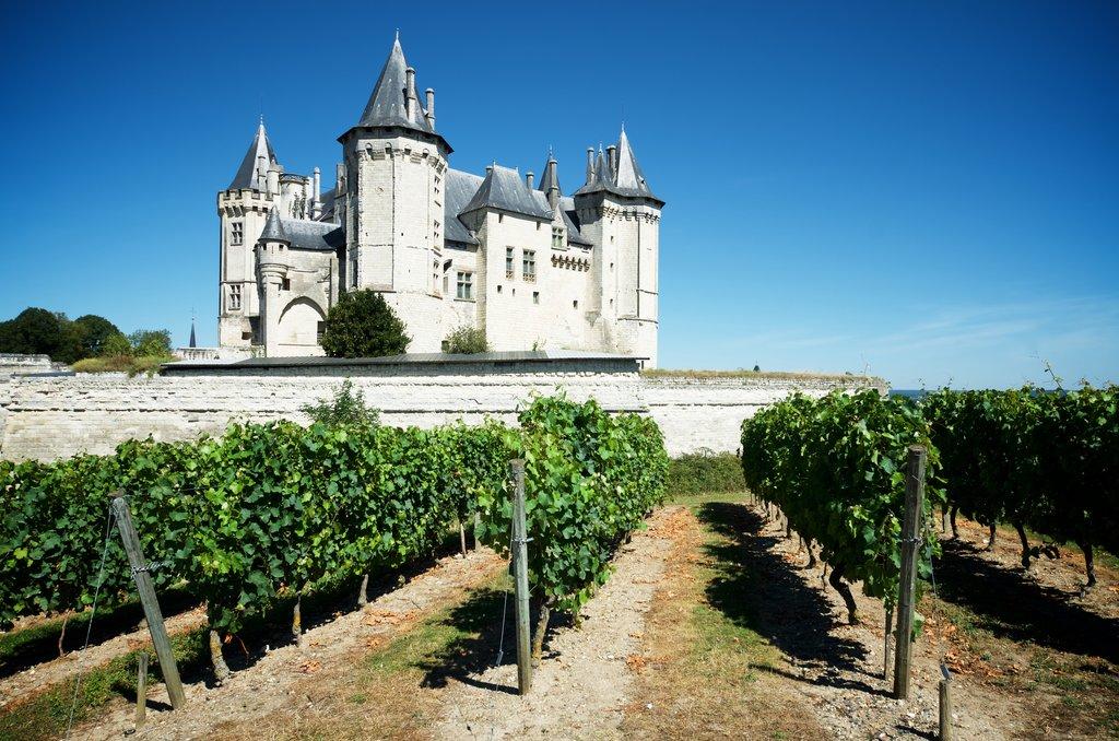 10th-century Saumur Castle