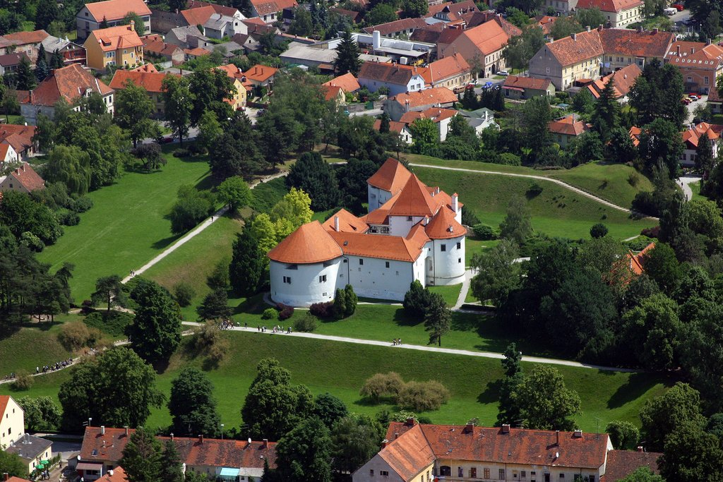 The 13th-century Old Castle in Varaždin