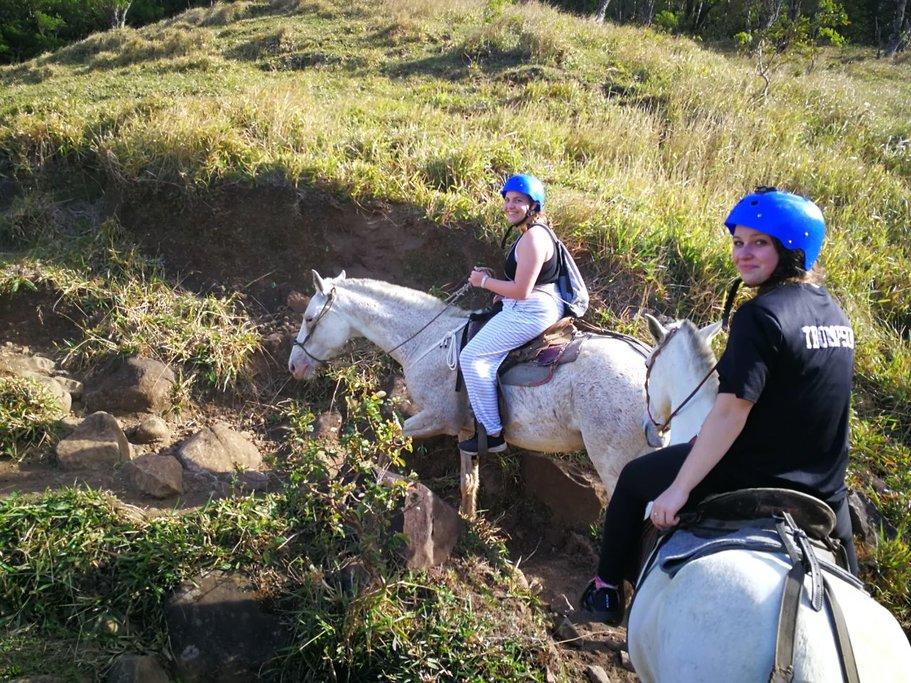 monteverde hoserback ride