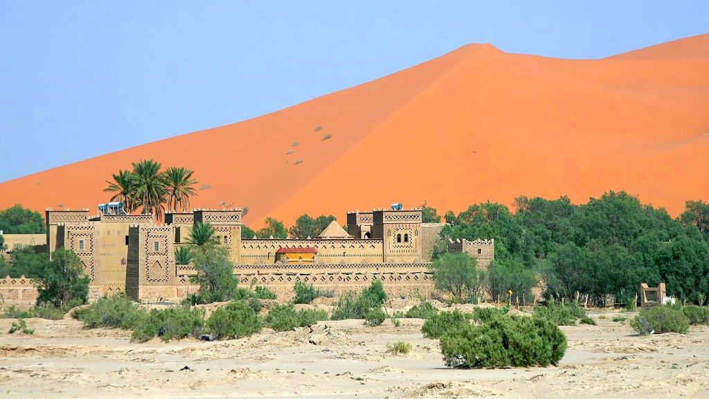 How to Get from Azrou to Merzouga