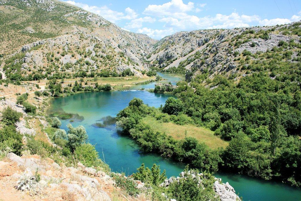 The stunning Zrmanja River