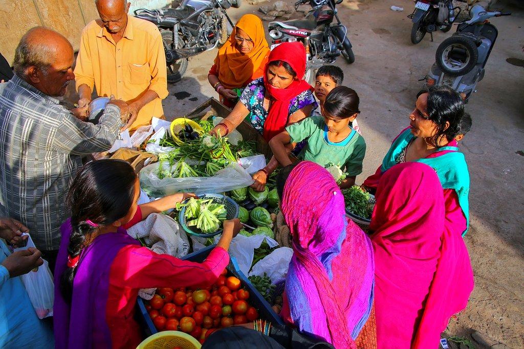 India - Jaipur - Shop for vegetables
