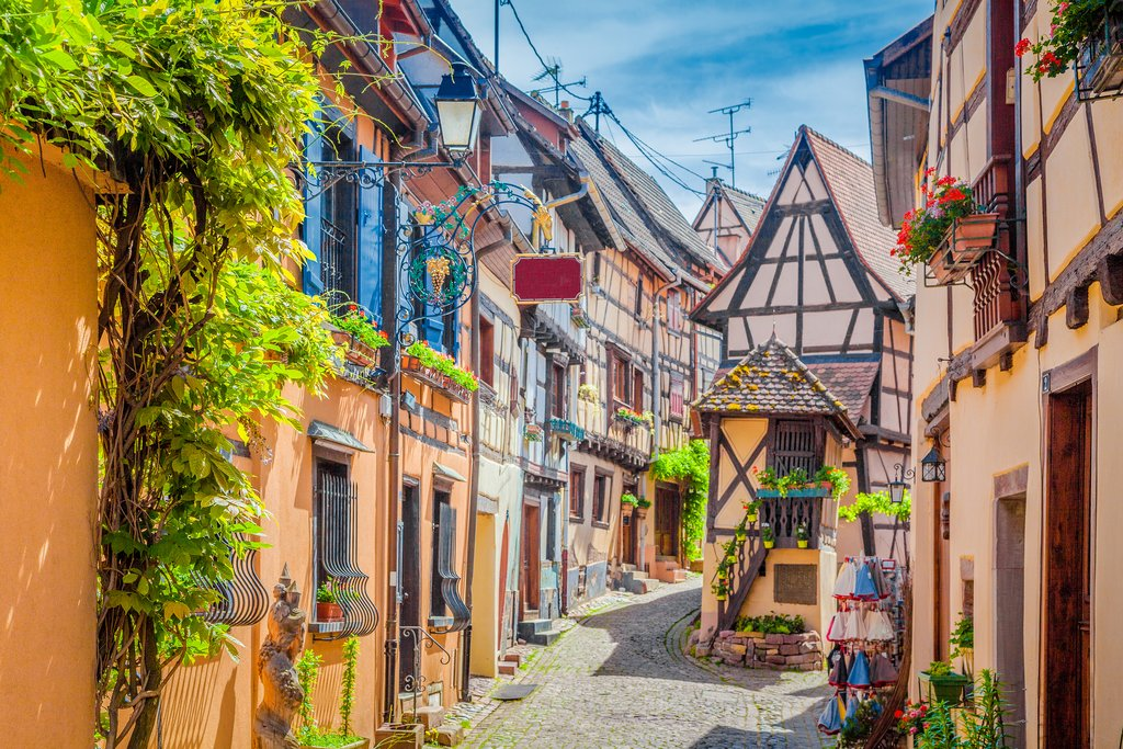 Historic town of Eguisheim