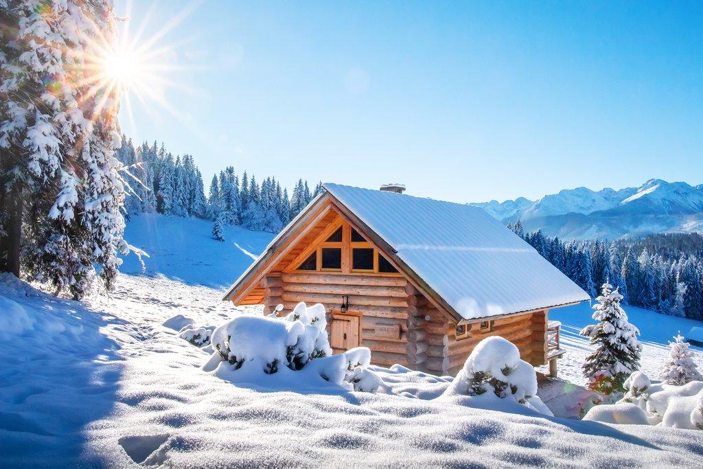 Wintertime in the Alps