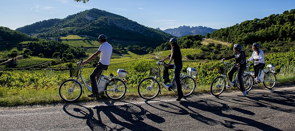 Cycling the Luberon region