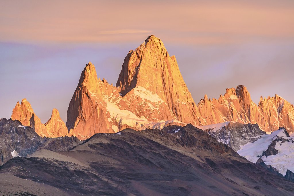 Fitz Roy at sunrise
