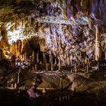 Inside the Postojna Cave