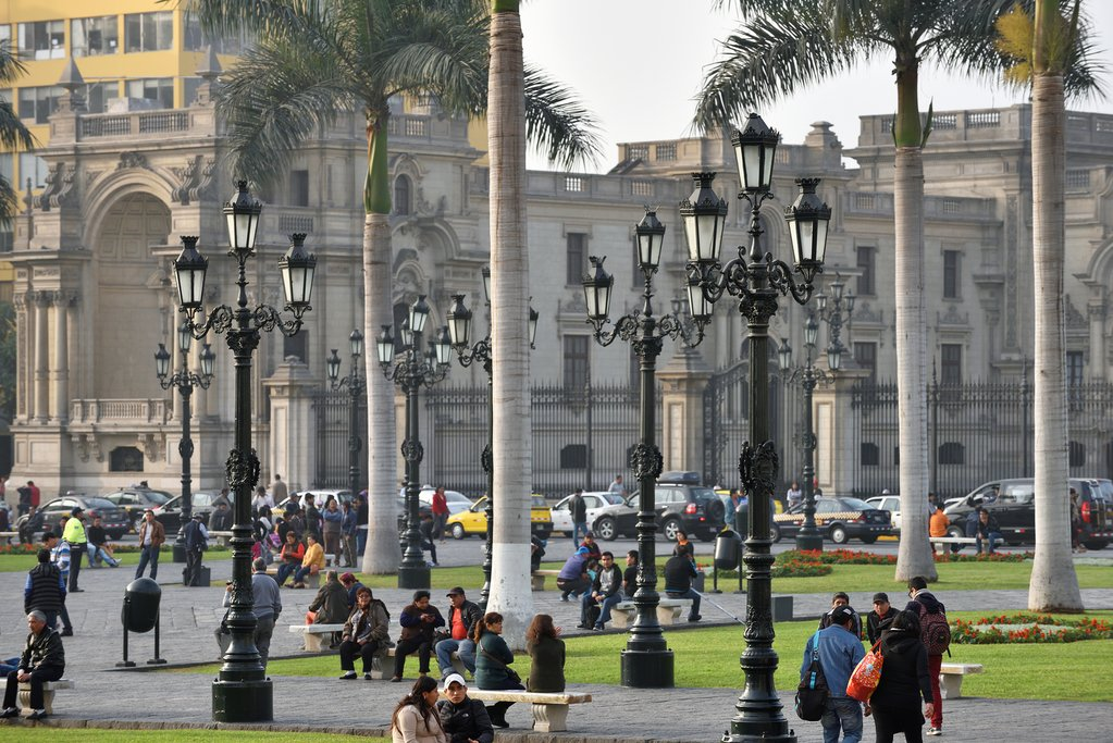 Elegant architecture in Peru's capital