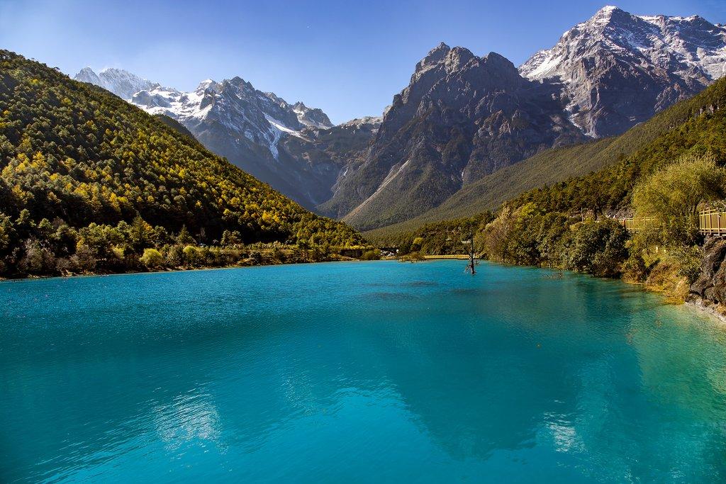 Scenery of Jade Dragon Snow Mountain